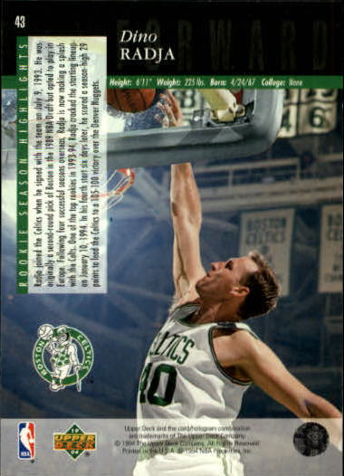 1993-94-Upper-Deck-SE-Basketball-Cards-Pick-From-List thumbnail 87