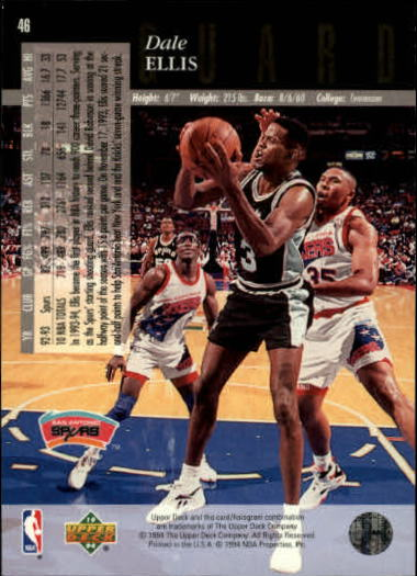 1993-94-Upper-Deck-SE-Basketball-Cards-Pick-From-List thumbnail 93