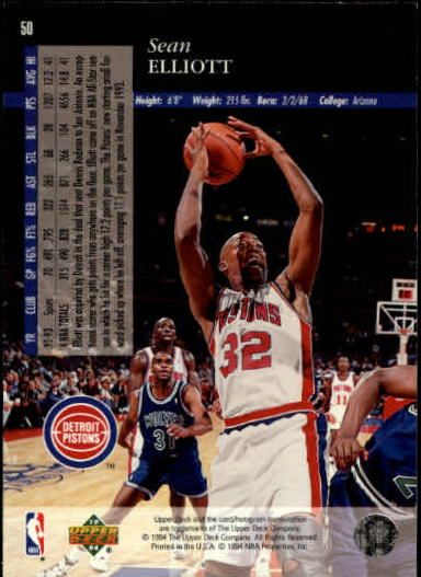 1993-94-Upper-Deck-SE-Basketball-Cards-Pick-From-List thumbnail 101