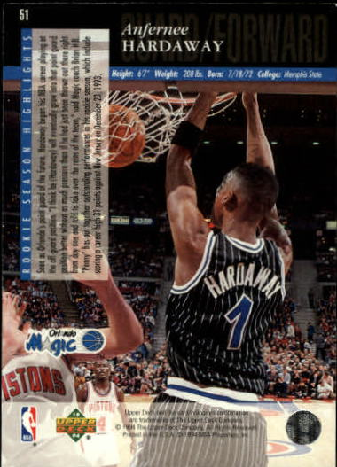 1993-94-Upper-Deck-SE-Basketball-Cards-Pick-From-List thumbnail 103