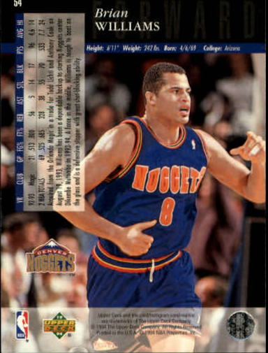 1993-94-Upper-Deck-SE-Basketball-Cards-Pick-From-List thumbnail 109