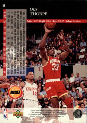 1993-94-Upper-Deck-SE-Basketball-Cards-Pick-From-List thumbnail 111