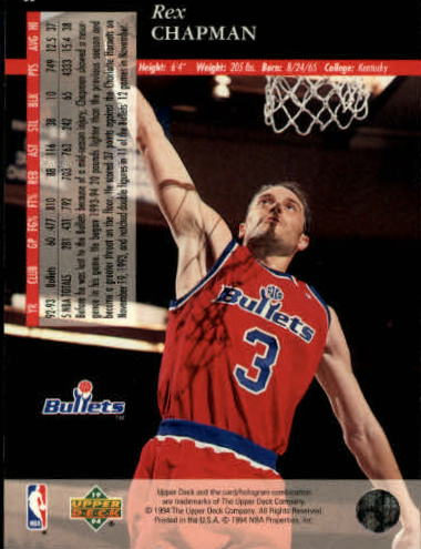 1993-94-Upper-Deck-SE-Basketball-Cards-Pick-From-List thumbnail 117