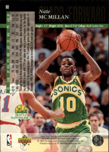 1993-94-Upper-Deck-SE-Basketball-Cards-Pick-From-List thumbnail 121