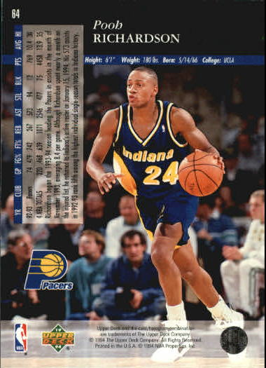 1993-94-Upper-Deck-SE-Basketball-Cards-Pick-From-List thumbnail 129