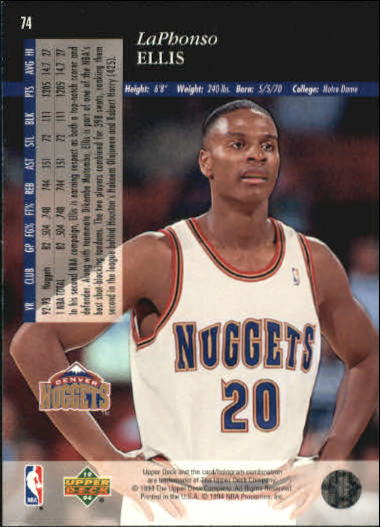 1993-94-Upper-Deck-SE-Basketball-Cards-Pick-From-List thumbnail 149