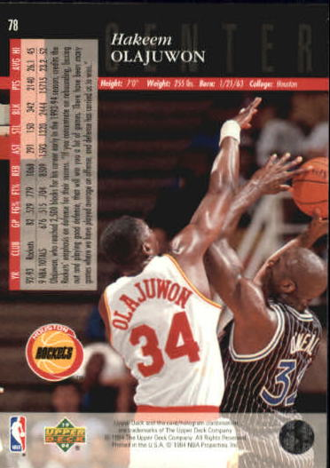 1993-94-Upper-Deck-SE-Basketball-Cards-Pick-From-List thumbnail 157