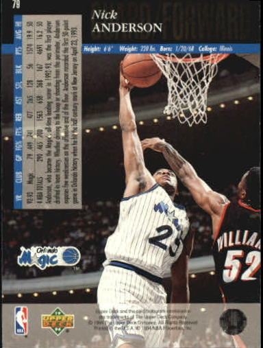 1993-94-Upper-Deck-SE-Basketball-Cards-Pick-From-List thumbnail 159