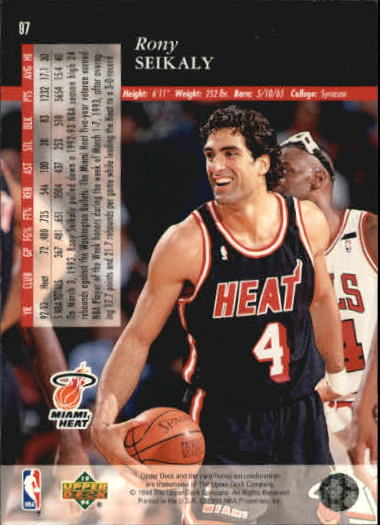 1993-94-Upper-Deck-SE-Basketball-Cards-Pick-From-List thumbnail 195