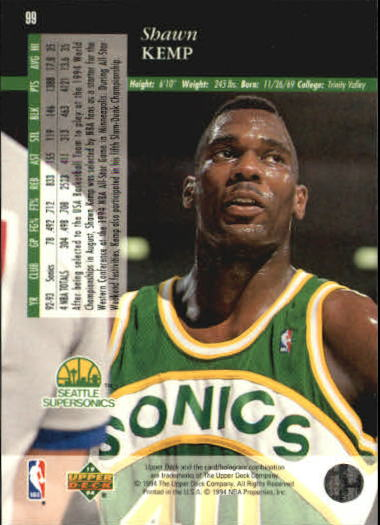 1993-94-Upper-Deck-SE-Basketball-Cards-Pick-From-List thumbnail 199