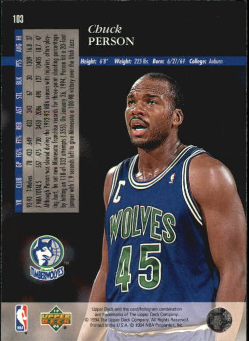 1993-94-Upper-Deck-SE-Basketball-Cards-Pick-From-List thumbnail 207