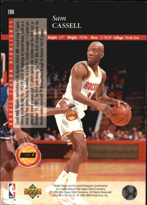 1993-94-Upper-Deck-SE-Basketball-Cards-Pick-From-List thumbnail 209