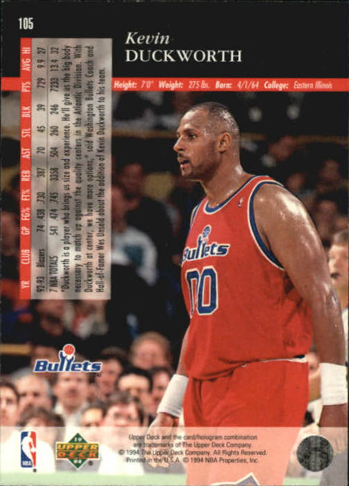 1993-94-Upper-Deck-SE-Basketball-Cards-Pick-From-List thumbnail 211