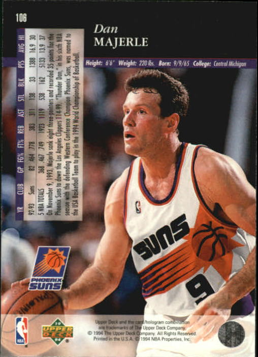 1993-94-Upper-Deck-SE-Basketball-Cards-Pick-From-List thumbnail 213