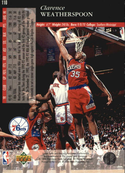 1993-94-Upper-Deck-SE-Basketball-Cards-Pick-From-List thumbnail 221
