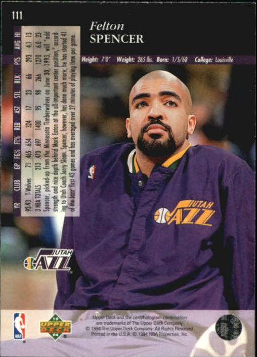 1993-94-Upper-Deck-SE-Basketball-Cards-Pick-From-List thumbnail 223
