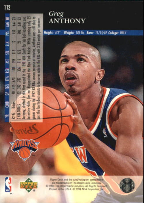 1993-94-Upper-Deck-SE-Basketball-Cards-Pick-From-List thumbnail 225