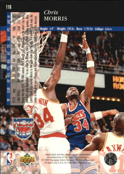 1993-94-Upper-Deck-SE-Basketball-Cards-Pick-From-List thumbnail 233