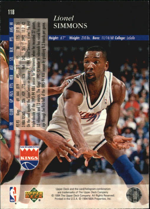 1993-94-Upper-Deck-SE-Basketball-Cards-Pick-From-List thumbnail 237