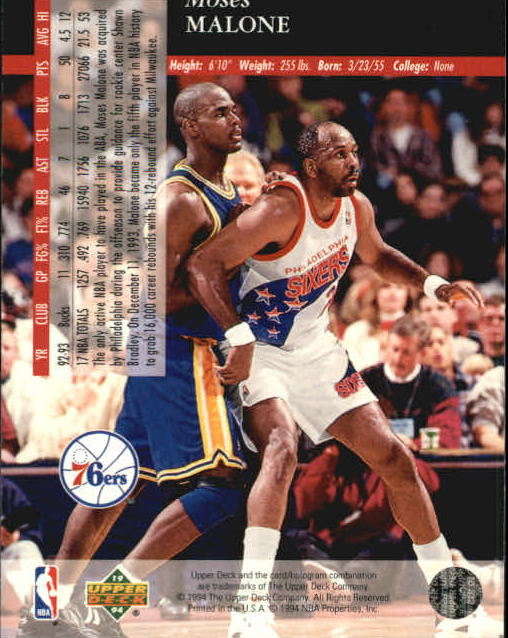1993-94-Upper-Deck-SE-Basketball-Cards-Pick-From-List thumbnail 241