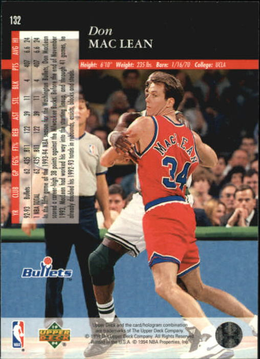 1993-94-Upper-Deck-SE-Basketball-Cards-Pick-From-List thumbnail 265