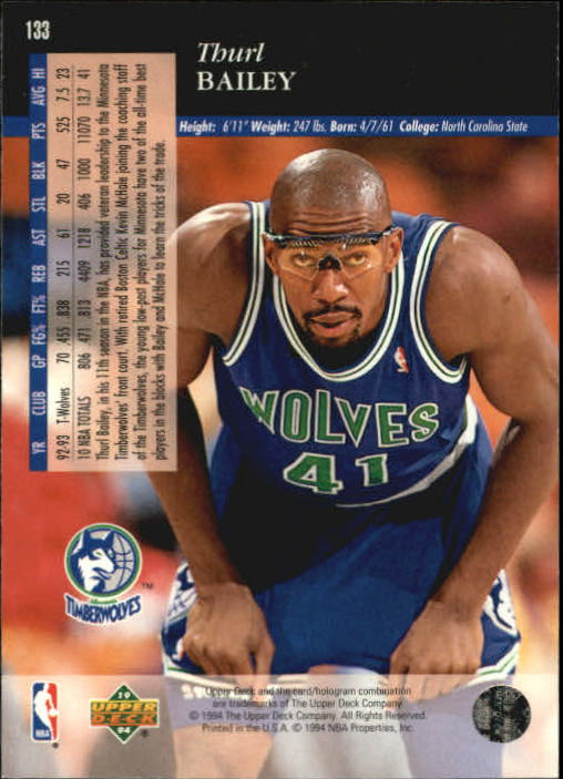 1993-94-Upper-Deck-SE-Basketball-Cards-Pick-From-List thumbnail 267