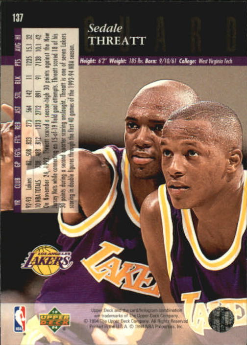 1993-94-Upper-Deck-SE-Basketball-Cards-Pick-From-List thumbnail 275