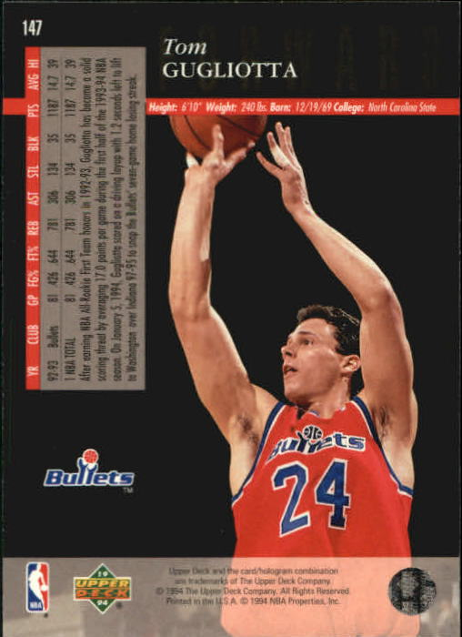 1993-94-Upper-Deck-SE-Basketball-Cards-Pick-From-List thumbnail 295