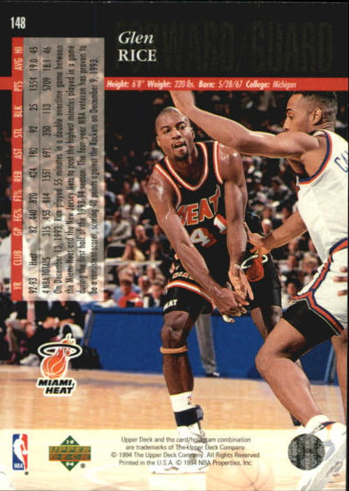 1993-94-Upper-Deck-SE-Basketball-Cards-Pick-From-List thumbnail 297