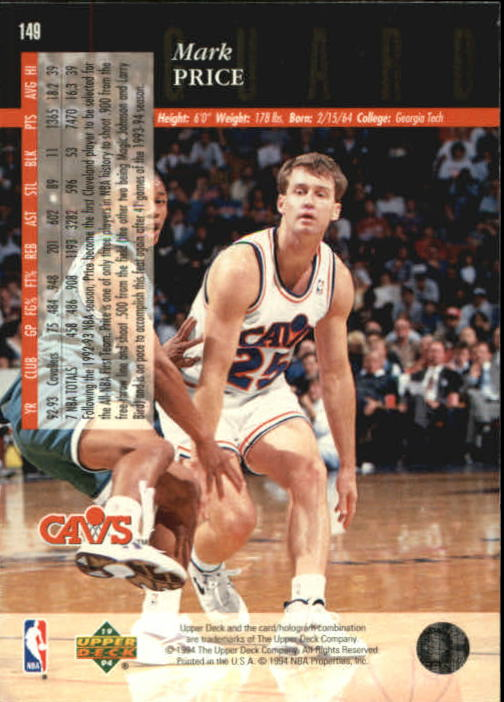 1993-94-Upper-Deck-SE-Basketball-Cards-Pick-From-List thumbnail 299