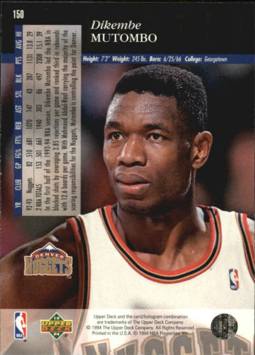 1993-94-Upper-Deck-SE-Basketball-Cards-Pick-From-List thumbnail 301