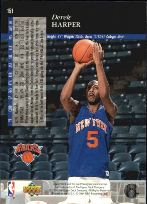 1993-94-Upper-Deck-SE-Basketball-Cards-Pick-From-List thumbnail 303