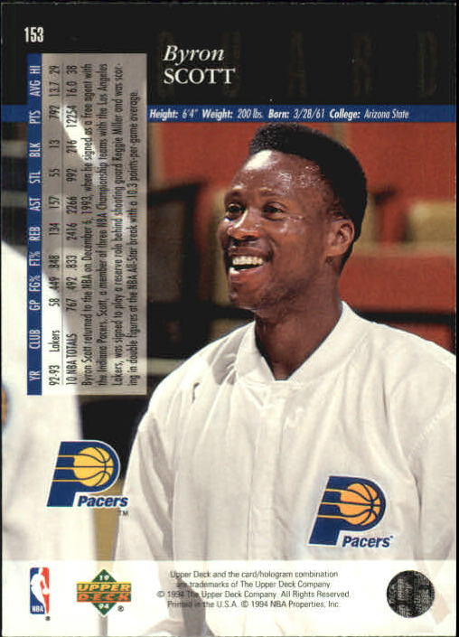 1993-94-Upper-Deck-SE-Basketball-Cards-Pick-From-List thumbnail 307