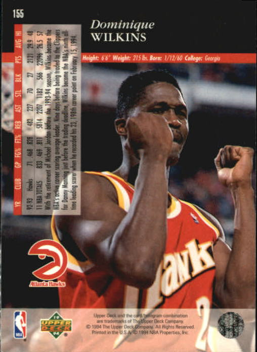 1993-94-Upper-Deck-SE-Basketball-Cards-Pick-From-List thumbnail 311