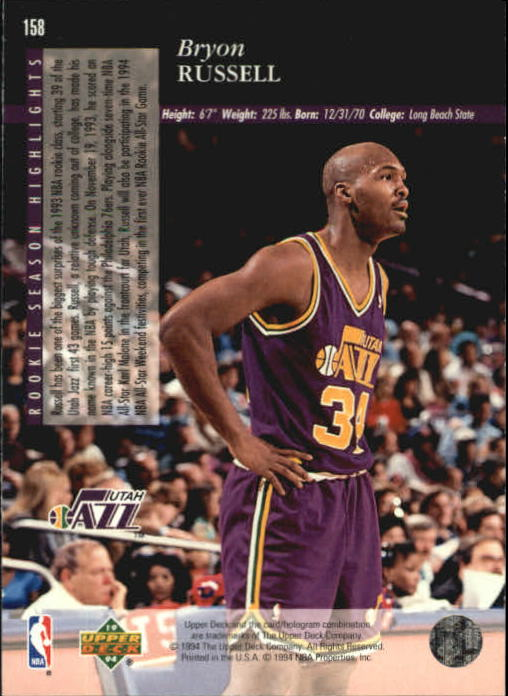 1993-94-Upper-Deck-SE-Basketball-Cards-Pick-From-List thumbnail 317