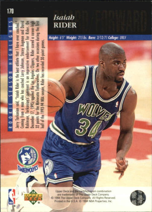 1993-94-Upper-Deck-SE-Basketball-Cards-Pick-From-List thumbnail 341