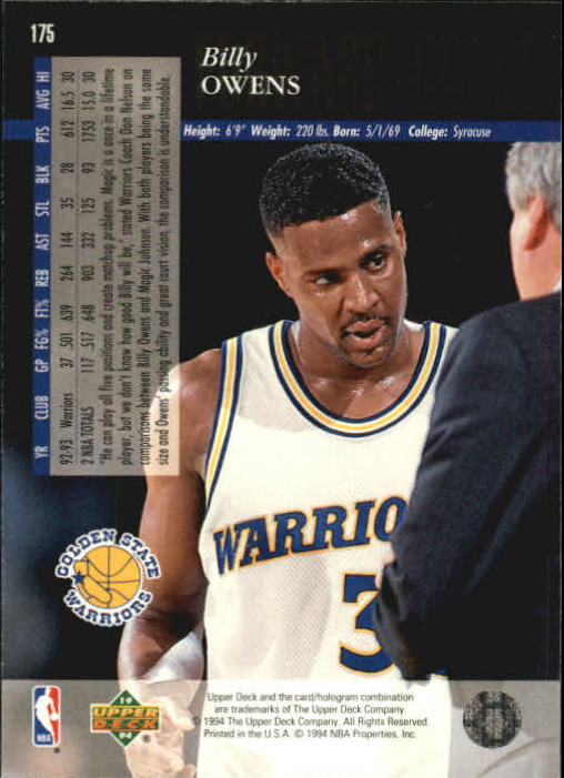 1993-94-Upper-Deck-SE-Basketball-Cards-Pick-From-List thumbnail 351