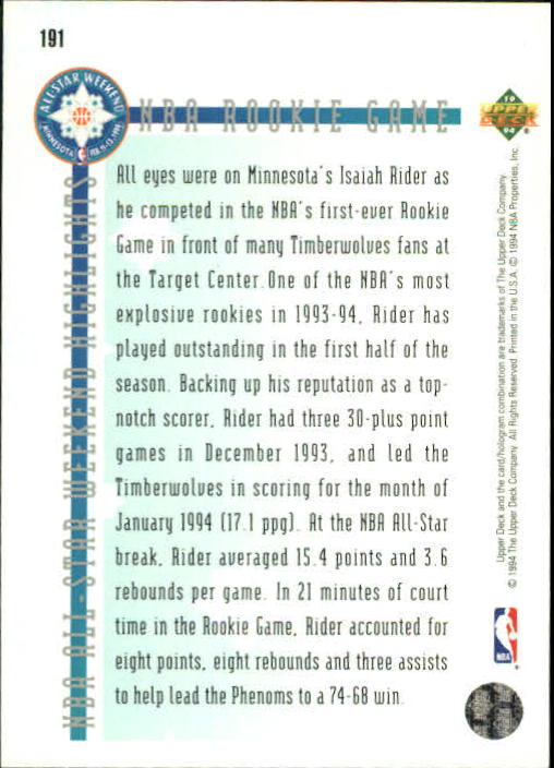 1993-94-Upper-Deck-SE-Basketball-Cards-Pick-From-List thumbnail 382