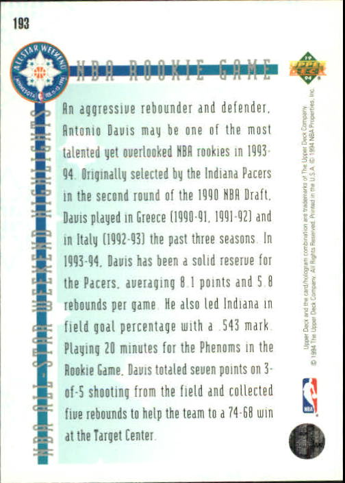1993-94-Upper-Deck-SE-Basketball-Cards-Pick-From-List thumbnail 386
