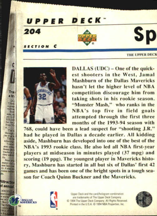 1993-94-Upper-Deck-SE-Basketball-Cards-Pick-From-List thumbnail 408