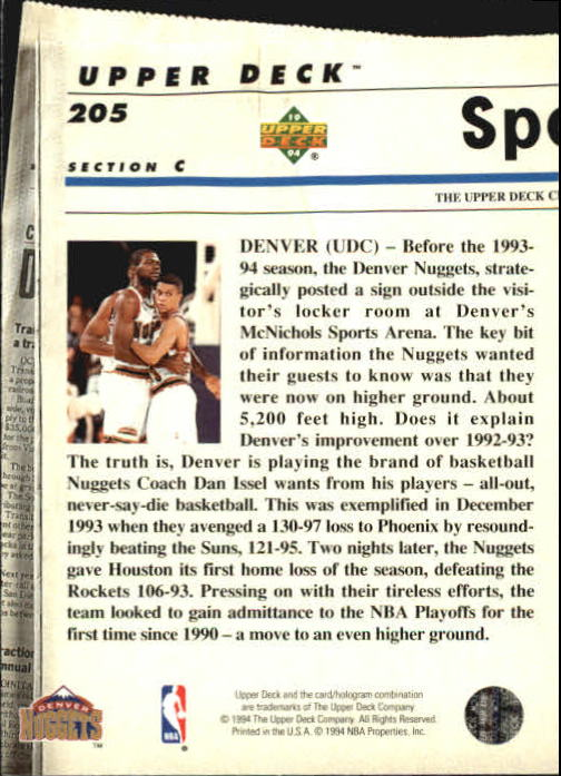 1993-94-Upper-Deck-SE-Basketball-Cards-Pick-From-List thumbnail 410