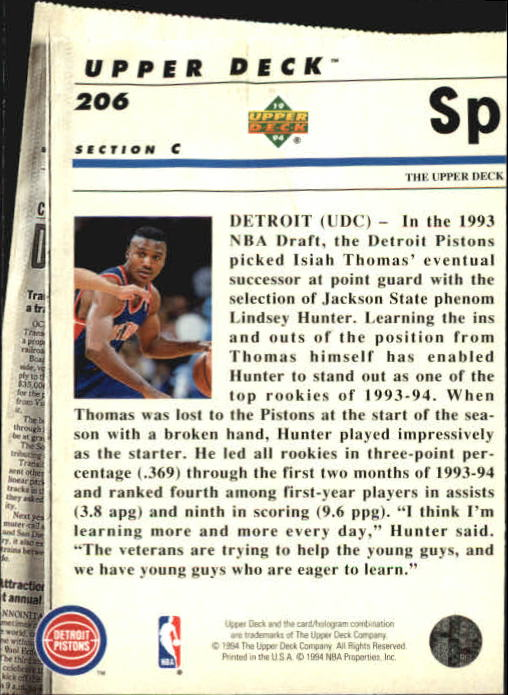 1993-94-Upper-Deck-SE-Basketball-Cards-Pick-From-List thumbnail 412