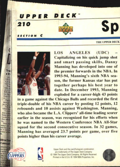 1993-94-Upper-Deck-SE-Basketball-Cards-Pick-From-List thumbnail 420