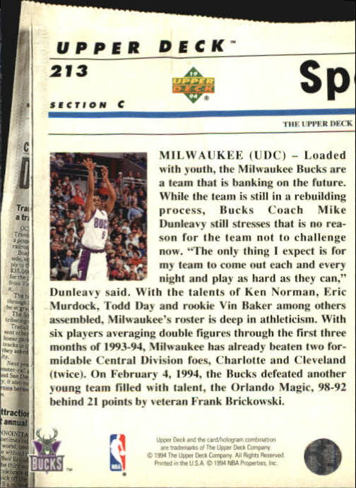 1993-94-Upper-Deck-SE-Basketball-Cards-Pick-From-List thumbnail 426