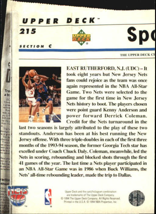 1993-94-Upper-Deck-SE-Basketball-Cards-Pick-From-List thumbnail 430