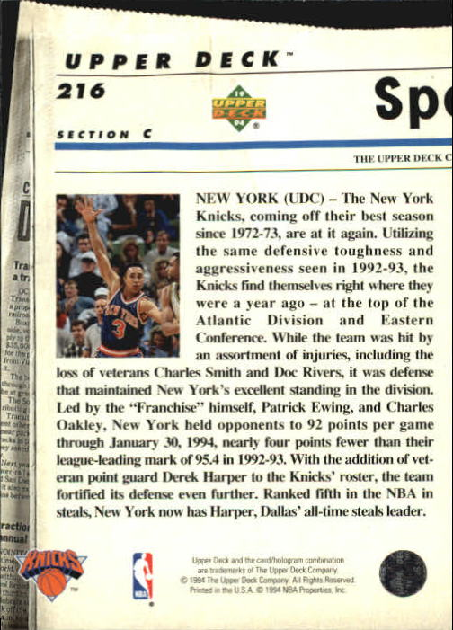 1993-94-Upper-Deck-SE-Basketball-Cards-Pick-From-List thumbnail 432