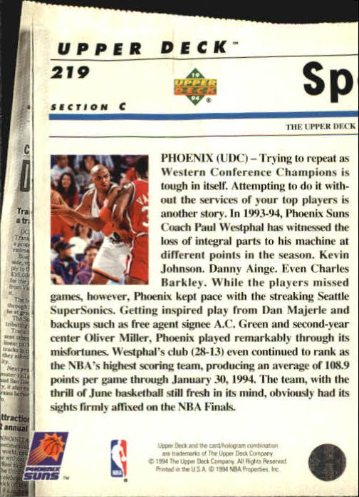 1993-94-Upper-Deck-SE-Basketball-Cards-Pick-From-List thumbnail 438