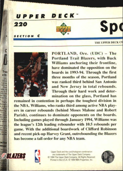 1993-94-Upper-Deck-SE-Basketball-Cards-Pick-From-List thumbnail 440