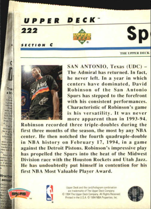 1993-94-Upper-Deck-SE-Basketball-Cards-Pick-From-List thumbnail 444