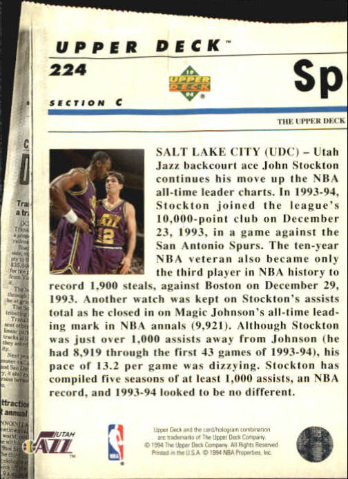1993-94-Upper-Deck-SE-Basketball-Cards-Pick-From-List thumbnail 448